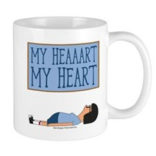 Bob's Burgers Tina Heart Mug