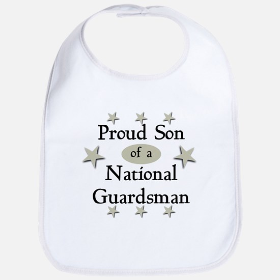 Proud Son National Guard Bib