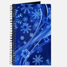 Blue Snowflakes Journal