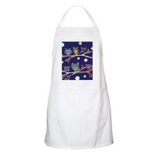 Nighttime Owl Party Apron