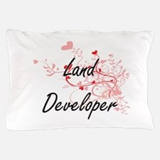 Land Developer Artistic Job Design wit Pillow Case