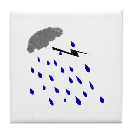 Rainy Day Tile Coaster