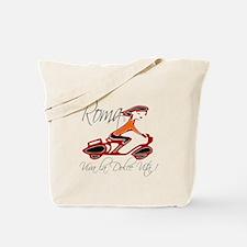 Cute Moped Tote Bag