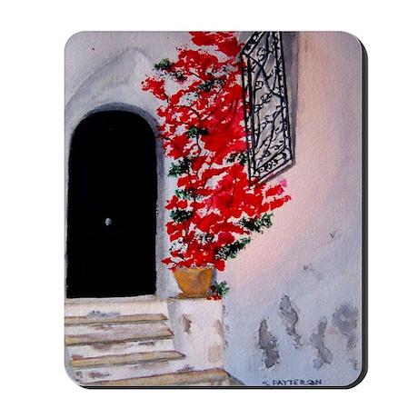 """""""Tuscan Doorway"""" Mousepad"""