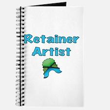 Retainer Artist Green & Blue X Journal
