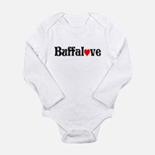 Funny Buffalo ny Long Sleeve Infant Bodysuit