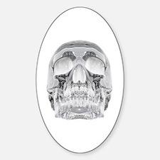 Crystal Skull Sticker (Oval)