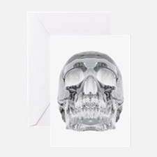 Crystal Skull Greeting Card