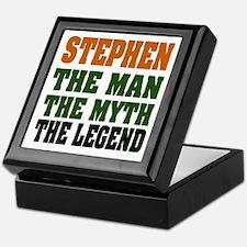 STEPHEN - the legend Keepsake Box