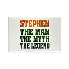 STEPHEN - the legend Rectangle Magnet
