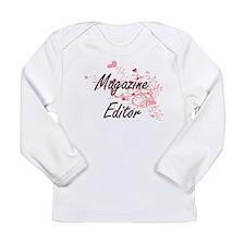 Magazine Editor Artistic Job D Long Sleeve T-Shirt