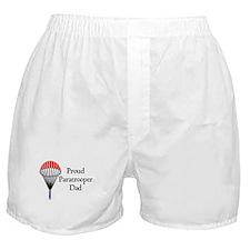 Proud Paratrooper Dad Boxer Shorts