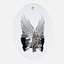 Fallen Angel Oval Ornament