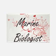 Marine Biologist Artistic Job Design with Magnets