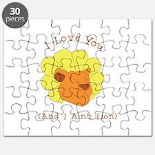 I Aint Lion Puzzle