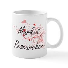 Market Researcher Artistic Job Design with He Mugs
