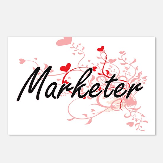 Marketer Artistic Job Des Postcards (Package of 8)