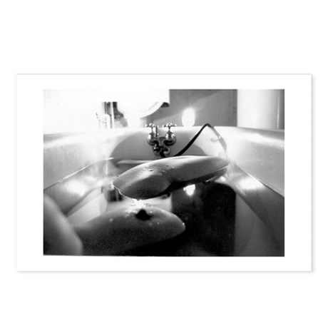 """bath"" POSTCARDS (8)"