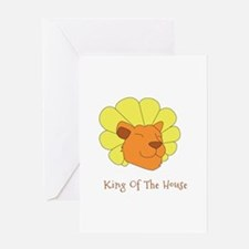 King of the House Greeting Cards