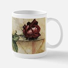 Da Vinci Letter Rose Mug