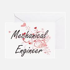 Funny Mechanical engineers Greeting Card