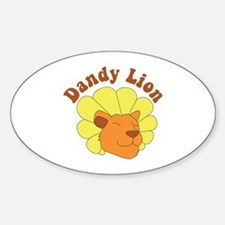 Dandy Lion Decal