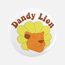 Dandy Lion Button