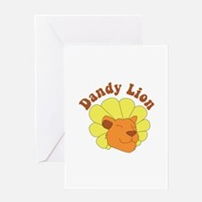 Dandy Lion Greeting Cards