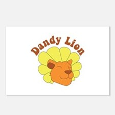 Dandy Lion Postcards (Package of 8)