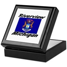Riverview Michigan Keepsake Box