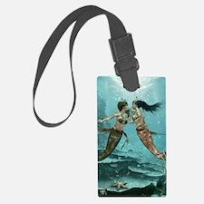 Friendly Mermaids Luggage Tag