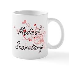 Medical Secretary Artistic Job Design with He Mugs