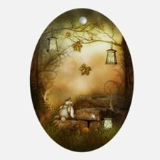 Fairytale Forest Oval Ornament
