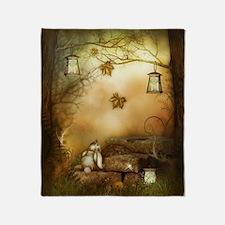 Fairytale Forest Throw Blanket
