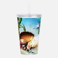 Underwater Sea Life Acrylic Double-wall Tumbler