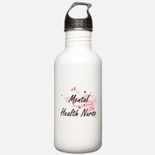 Mental Health Nurse Ar Sports Water Bottle