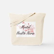 Mental Health Nurse Artistic Job Design w Tote Bag