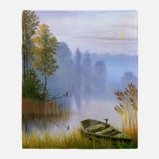 Beautiful Summer Painting Throw Blanket