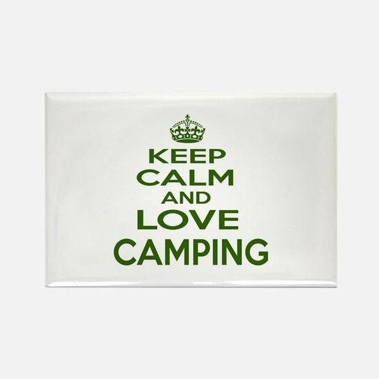 Keep calm and love Cam Rectangle Magnet (100 pack)