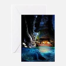 Treasure Cave Greeting Card