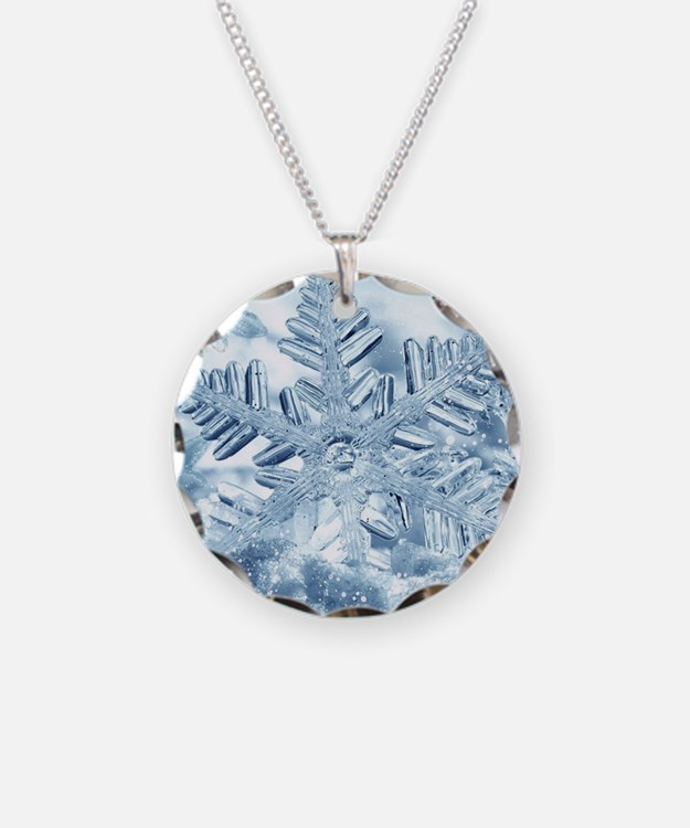 Snowflake Crystals Necklace