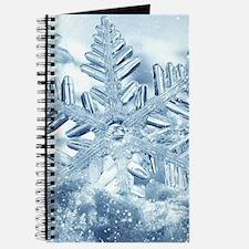 Snowflake Crystals Journal