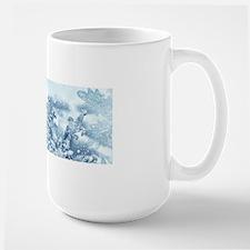 Snowflake Crystals Large Mug