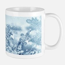 Snowflake Crystals Small Mugs