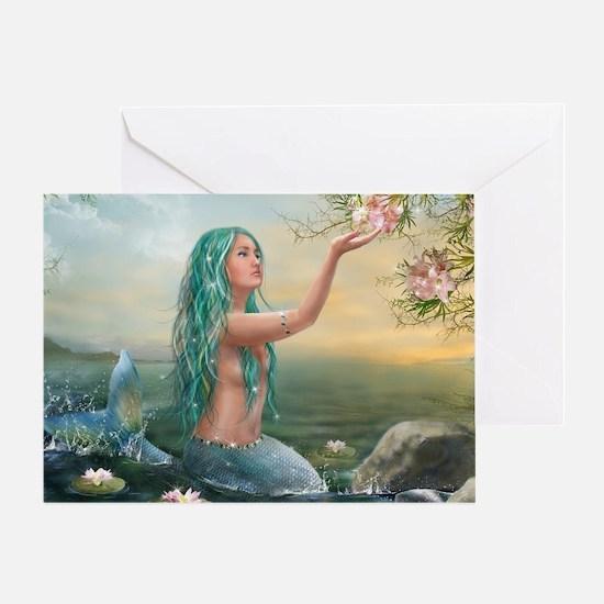 Marine Mermaid Greeting Card