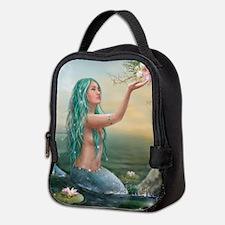 Marine Mermaid Neoprene Lunch Bag