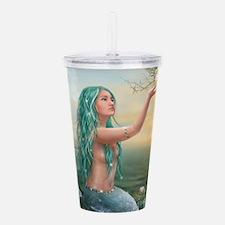 Marine Mermaid Acrylic Double-wall Tumbler