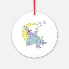Harleguin Moon Round Ornament