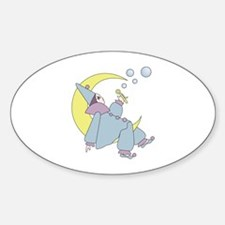 Harleguin Moon Decal