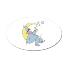 Harleguin Moon Wall Decal